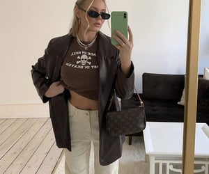 everyday look, fashionista fashionable, and fashion style mode image