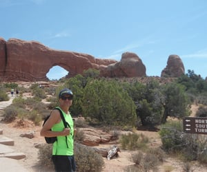 arches, gay, and hiking image