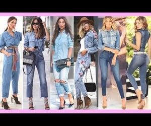 de, denim, and jeans image