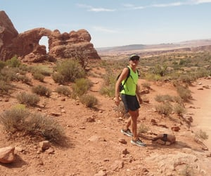 arches, gay, and hiker image