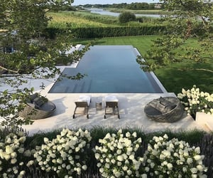 garden, home, and pool image