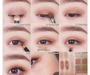 eye, make up, and shadows image