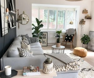 couch, decor, and home image