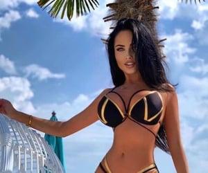 bikini, girls, and стиль image