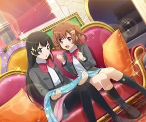 anime girl, kagura hikari, and game image