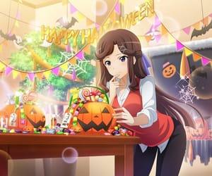anime girl, Halloween, and game image