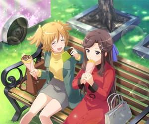 anime girl, daiba nana, and game image