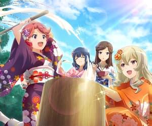 isurugi futaba, kaoruko hanayagi, and game image