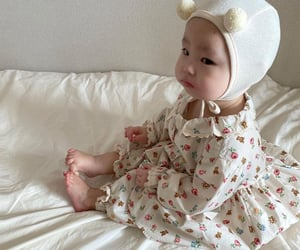 babies, cheeks, and children image