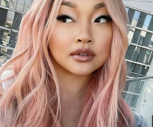 belleza, pink, and pelo image