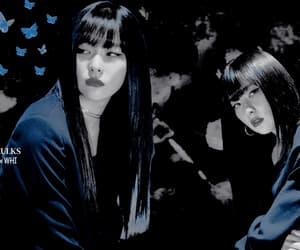 dark, girl, and asia girl image