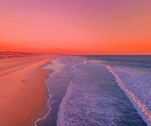beach, colourful, and ocean image