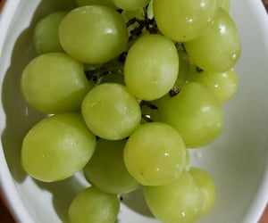 fruit, grapes, and green image