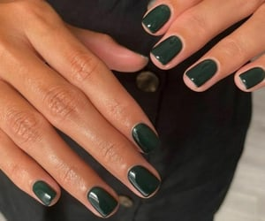 fashion, glossy, and green image