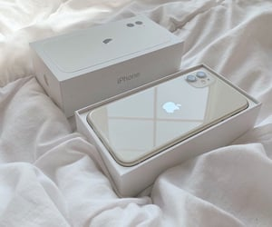 iphone, phone, and white image