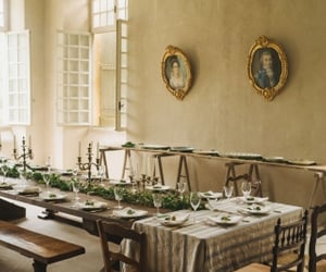 chateau, shabby chic, and decor image