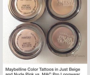 mac, makeup, and Maybelline image