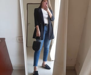 estilo, fashion, and mirror image