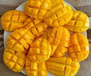 food, mango, and fruit image