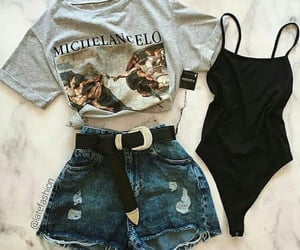 black top, clothes, and accessories image