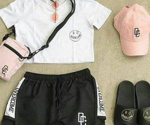 accessories, inspiration, and shorts image