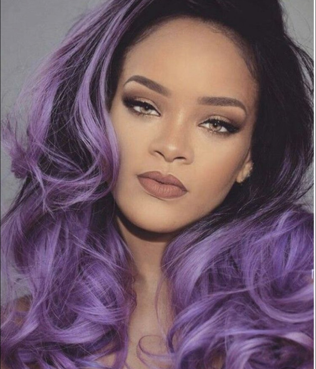 beauty, rihanna, and colorful hair image
