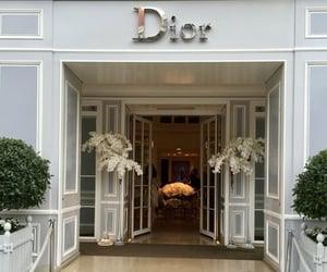 dior, doors, and shop image