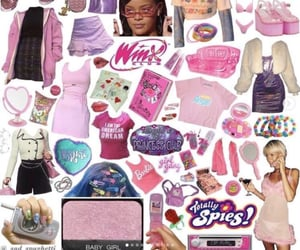 clothes, 2000s aesthetic, and barbie image
