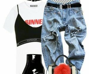 clothes, choker, and fashion image