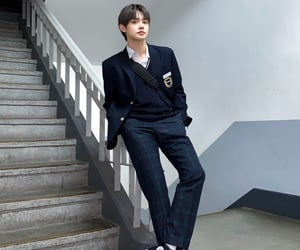 asian, body, and school uniform image