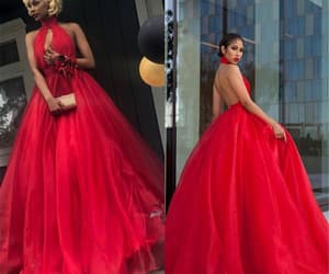 red prom dress, cheap prom dresses, and pageant dresses for women image