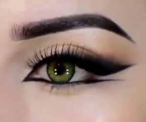eyebrows, beauty, and inspo image