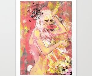 abstract, art, and art print image