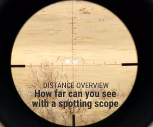 airsoft optics., spotting scope?, and distance overview image