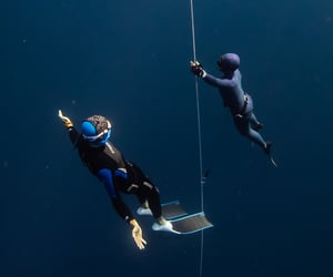 bali, diving, and freedive image