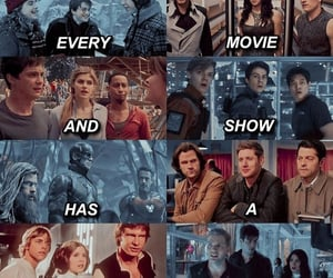 star wars, shadowhunters, and harry potter image
