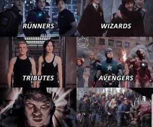 Avengers, harry potter, and the maze runner image