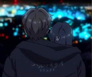anime boy, anime, and anime girl image