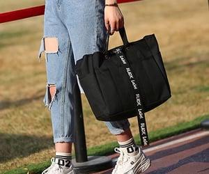 closet, fashion, and purse image
