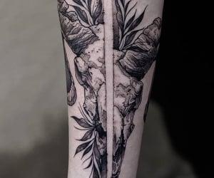 art, tat, and tattoo image