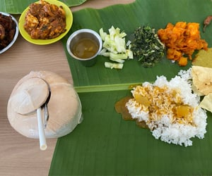 coconut, indian, and delicious image