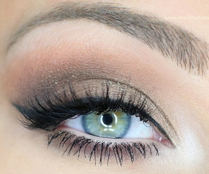 beautiful, make up, and blue eyes image