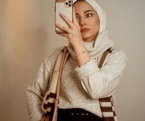 bag, boots, and hijabista image