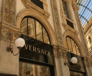 beige and Versace image