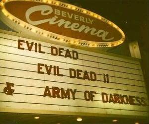 Army of Darkness, cinema, and Evil Dead image