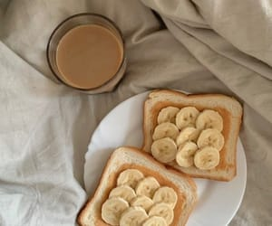 amazing, banana, and coffee image