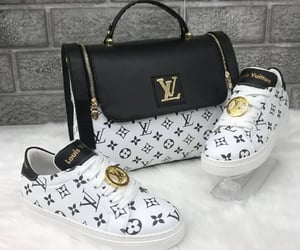 chanel, handbags, and shoes image