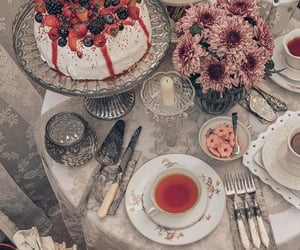 cafe, cake, and cup image