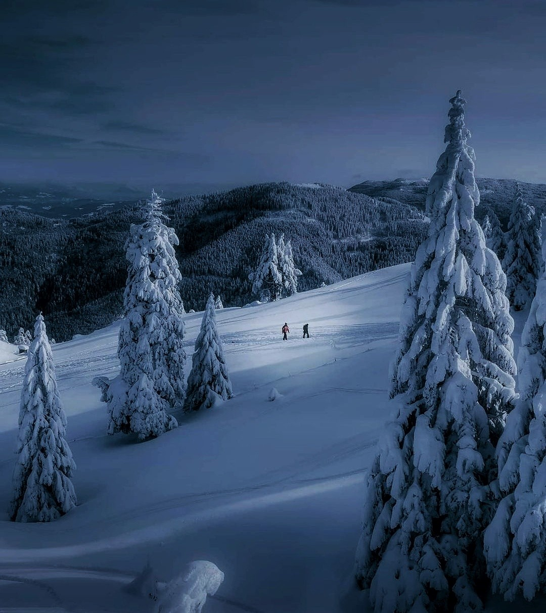 blue, finland, and frozen image