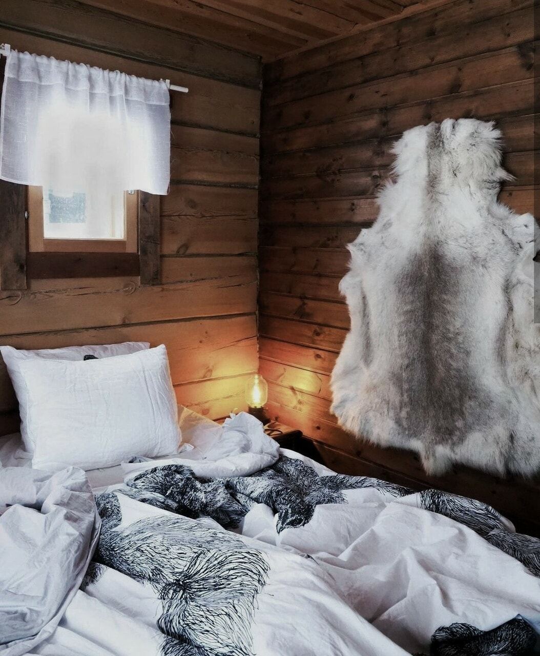 bed, decor, and finland image